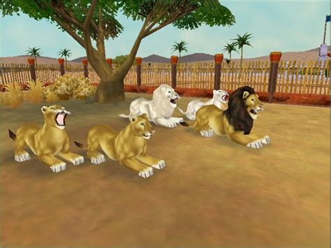 tycoon zoo lion lions collection variants deviantart ultimate animals animal google zoos animaux exhibit dog