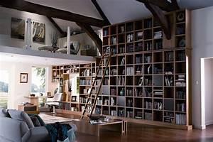 Bookshelf Wall - Bookshelf Ideas - Living Room & Study