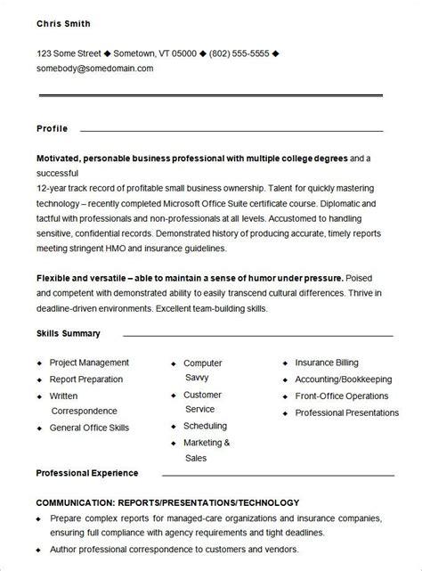 functional resume templates  printable word