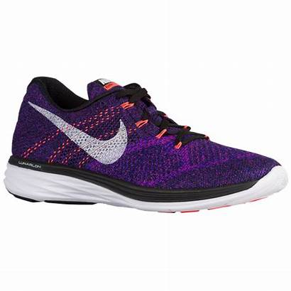 Flyknit Nike Lunar Purple Mens Shoes