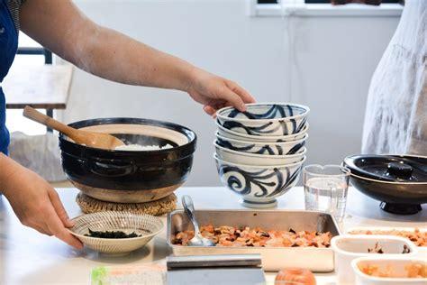 un cour de cuisine faire un cours de cuisine japonaise à le polyèdre