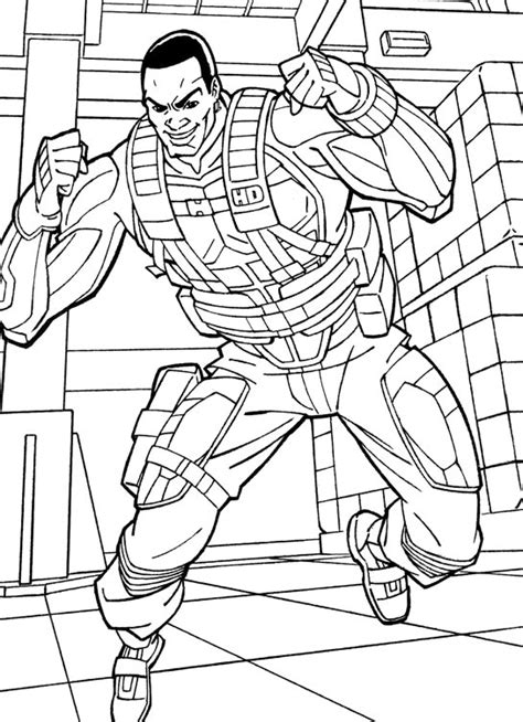 kids  funcom  coloring pages  gi joe