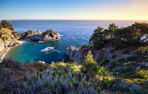 Mcway Falls Big Sur California Earthporn