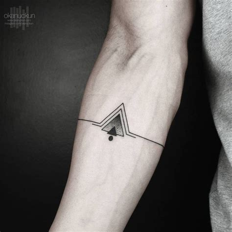 geometric tattoos ideas  pinterest geometric