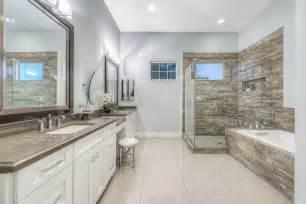 Gray Tile Shower Image