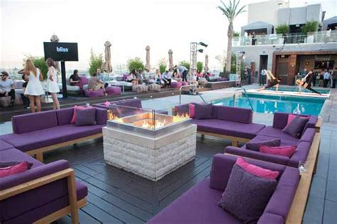 W Hollywood Hotel's Reveal Party For The New Rooftop Wet