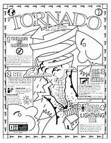 Tornado Coloring Pages Weather Storm Realistic Colour Warning Printable Drawing Disaster Natural Template Getdrawings Severe Sketch Getcolorings Crafts sketch template