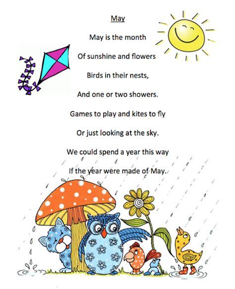 may poem printables printables preschool poems 818   98f7aec0b8418e91474502209e66d512