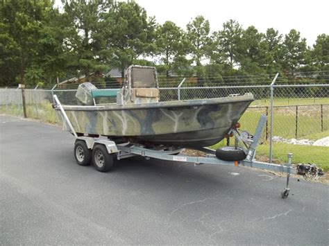 Camo Boat by 1994 1801 Camo Great Duck Boat The Hull