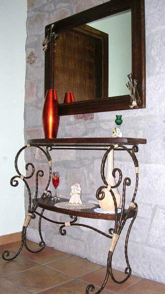 lade da esterno in ferro battuto specchi e consolle in ferro battuto lavorazioni
