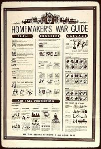 Retro Homemaker  Homemaker U2019s War Guide  1941
