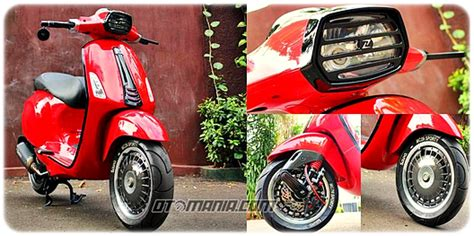 Vespa Racing Modifikasi by Modifikasi Vespa Racing Look Anti Mainstream Dengan Vespa