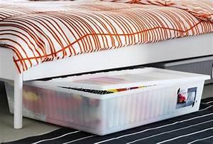 Rangement Sous Le Lit : rangements de lit ikea ~ Farleysfitness.com Idées de Décoration