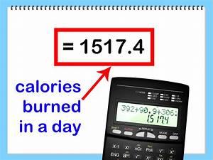 Kalorien Pro Tag Berechnen : die verbrauchten kalorien pro tag berechnen wikihow ~ Themetempest.com Abrechnung