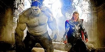 Hulk Thor Ragnarok Concept Fighting Excite Arts