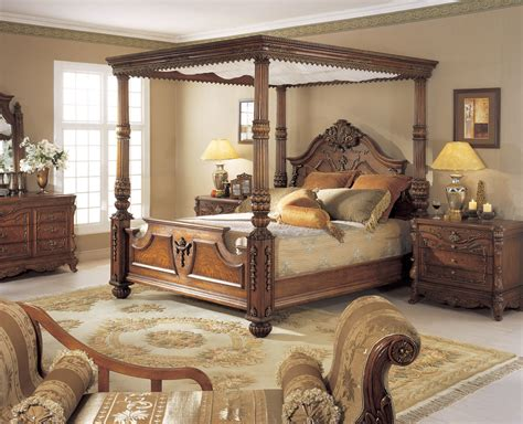 orleans international 6 pc renaissance king poster bed w