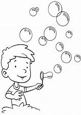 Bubble Coloring Pages sketch template