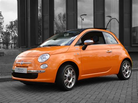 Fiat Orange Park by Fiat 500 Orange Specially Made For The Netherlands The