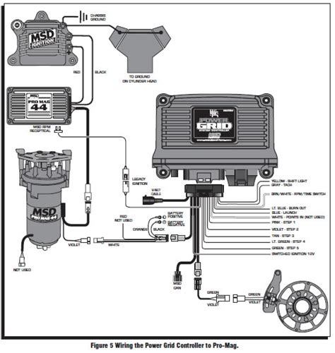 Msd Promag Wiring Diagram by How To Install An Msd Power Grid System On Your 1979 1995