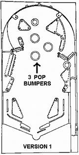 Pinball Machine Bally Template Mechanical Coloring Sketch Schematics Electro Freedom sketch template