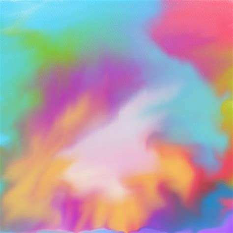Multi colored watercolor texture background Vector Free
