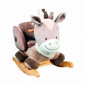 Cheval à Bascule Bebe : nattou noa le cheval bascule b b brun nattou la redoute ~ Teatrodelosmanantiales.com Idées de Décoration