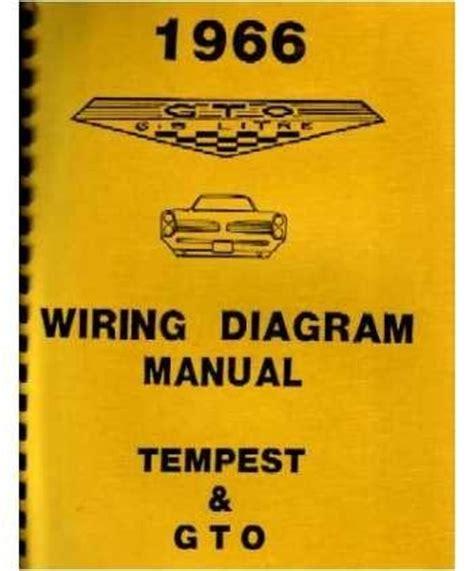 Pontiac Gto Questions Where Get Wiring Diagram