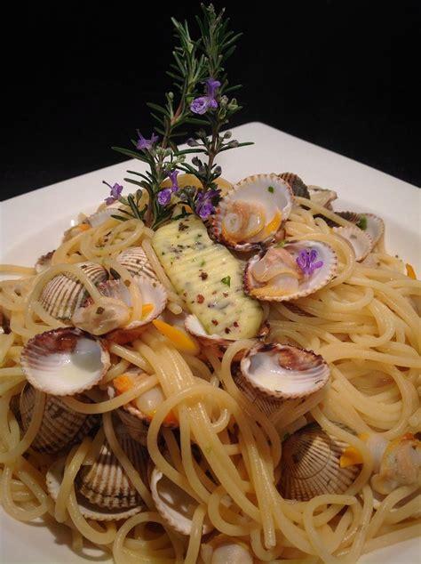 spaghettini alle vongole coquesvet beurre bordier aux