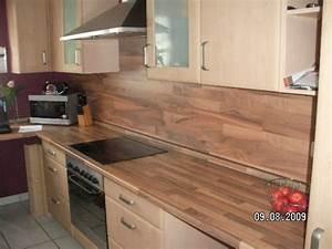 Laminat In Der Küche : tipp von camelita76 laminat als fliesenspiegel zimmerschau ~ Michelbontemps.com Haus und Dekorationen