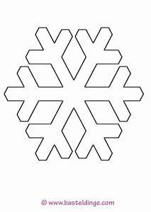 Schneeflocken Basteln Vorlagen : schneeflocken vorlage ausdrucken ~ Frokenaadalensverden.com Haus und Dekorationen