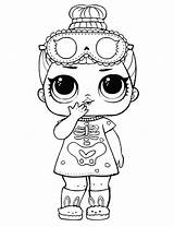 Lol Coloring Pages Dolls Printable Doll Surprise Colouring Sleepy Bones Boys Halloween Books Valentine Drawing Sheets Printables Scribblefun Boy Flower sketch template