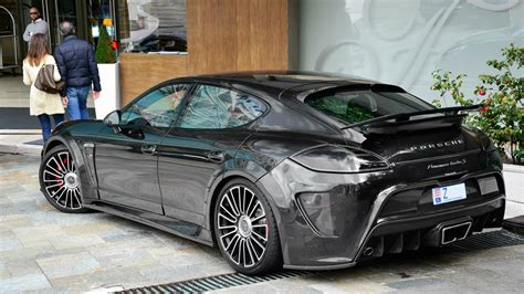 Black Porsche Mansory Panamera C One Wallpapers And Images