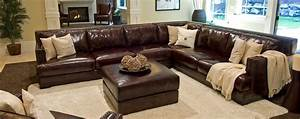 Large leather sectional sofas cleanupfloridacom for Largest sectional sofa
