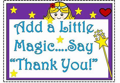 Thank Magic Attitude Gratitude Fairy Tales Fry