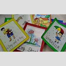 How To Make Flash Cards For Kids  Craftlas Youtube