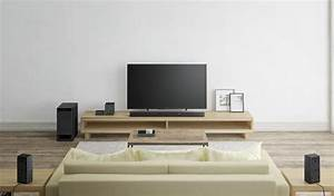 Sony U0026 39 S New 5 1 Surround System Is A Soundbar With A Little Extra