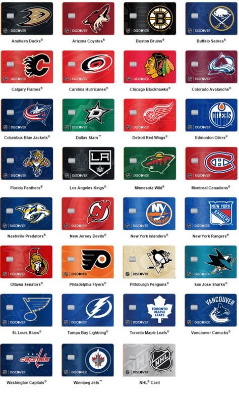 discover  nhl credit cards  review doctor