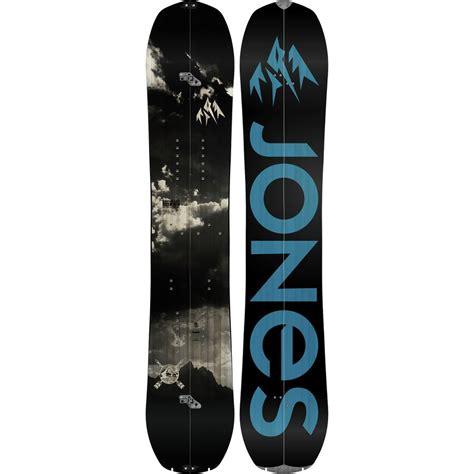 jones snowboards explorer splitboard backcountrycom
