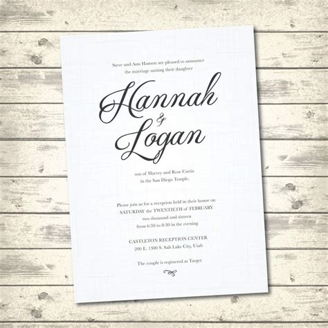 traditional wedding card templates classic wedding invitations templates