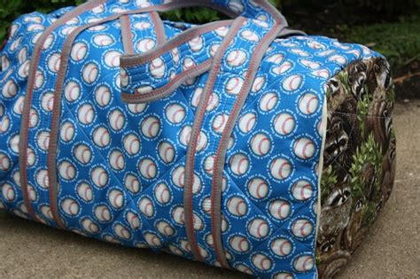 quilted duffle bag  fashion bags