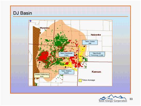 DJ MapDJ Basin Teton AcreageGreater WattenbergAreaTeton ...