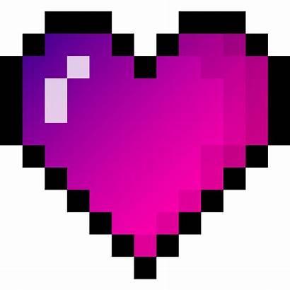 Pixels Data Pixel Drawing Heart Icon Gradient