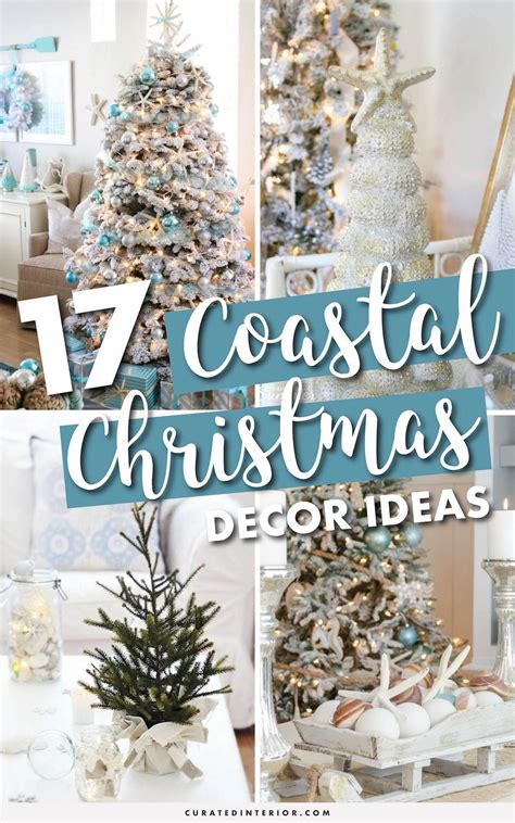 coastal christmas decor ideas