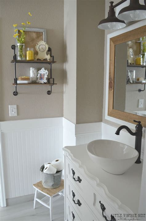 farmhouse master bathroom reveal dream home farmhouse