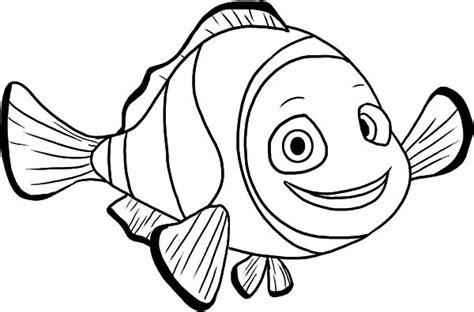 clown fish coloring page eskayalitim
