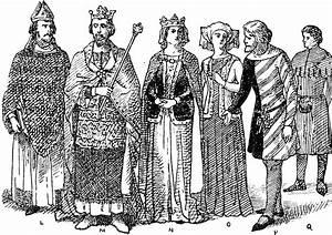England Nobles Fourteenth Century Fashion | ClipArt ETC