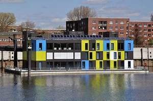 Wohnen Auf Dem Wasser : wohnen und arbeiten auf dem wasser einrichtungsideen institut f r raumdesign ~ Buech-reservation.com Haus und Dekorationen