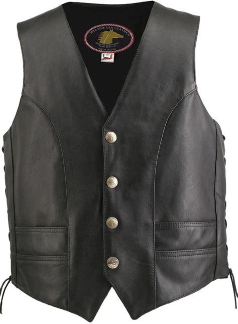 motorcycle vest men 39 s hillside usa horsehide biker vest