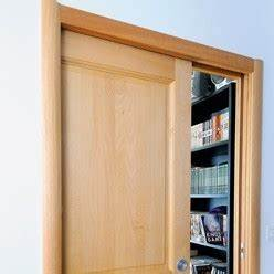 une cloison sur ossature et sa porte a galandage With monter une porte coulissante