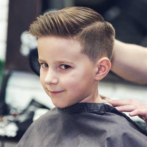 cut boys hair layering blending guides